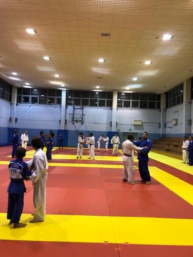 A Laigueglia l'allenamento regionale dei judoka agonisti