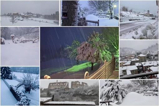 Confermata chiusura (ore 15) allerta nivologica in Val Bormida: tra domani e venerdì nuovo peggioramento con piogge diffuse e altra neve