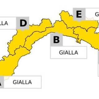 Maltempo in Liguria, scattata l'allerta gialla per temporali