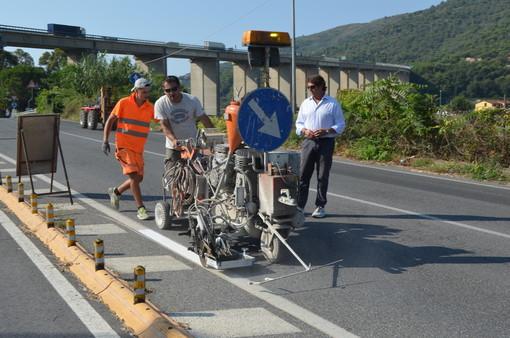 Andora: novità per la viabilità in strada Pian Grande
