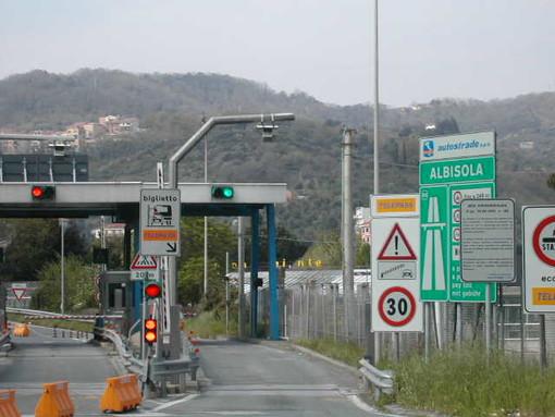 #Infoviabilità: sulla A10 chiuso per una notte il tratto Albisola-Savona