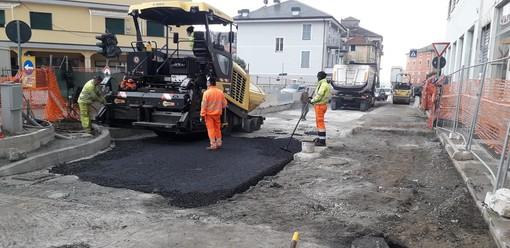 Celle, via all'asfalto sul S. Brigida, a giorni la riapertura della strada: rimarranno due semafori