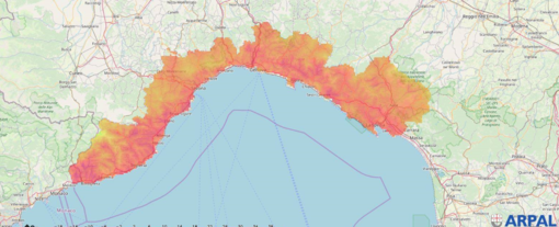 Un 25 luglio con caldo da record in Liguria: ad Albenga sfiorati i 33.6 gradi