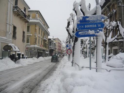 In Val Bormida in arrivo fino a 30 cm di neve, possibili nevicate anche in Riviera