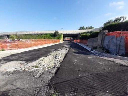Albissola, lavori di Enel in località Galaie: chiuso al transito pedonale la crosa che collega via Perata con via delle Industrie