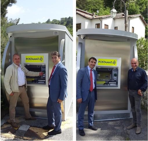 Prima candelina per gli ATM Postamat nei comuni di Massimino e Plodio