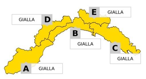 Nuova ondata di maltempo, allerta gialla per temporali: le previsioni di Arpal
