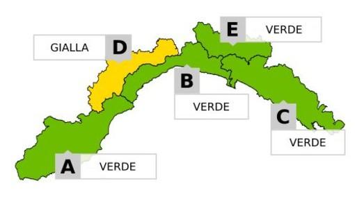 Maltempo, allerta gialla per neve in Val Bormida: le previsioni per le prossime ore