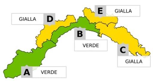 Maltempo, allerta gialla per neve in Val Bormida: le previsioni di Arpal