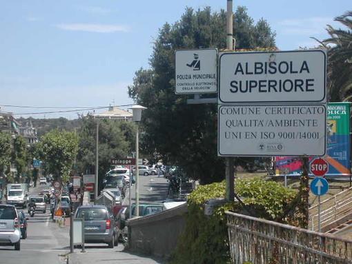Albisola Superiore, finalmente partono i lavori di asfaltatura dell'Aurelia