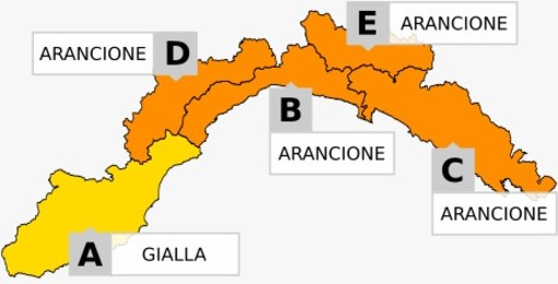 Maltempo in arrivo, allerta gialla e arancione per temporali: le previsioni di Arpal