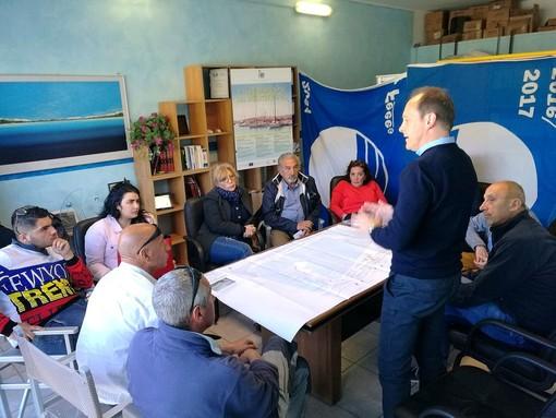 Andora, incontro tra il candidato sindaco Demichelis e gli operatori portuali