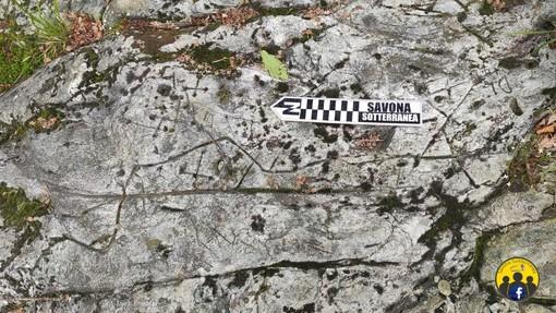 """Una nuova scoperta del ricercatore Claudio Arena: """"Un'antica mappa incisa su roccia a Sassello"""""""