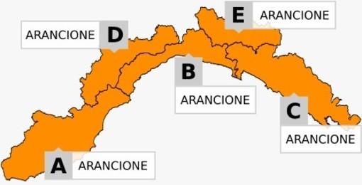 Arriva il maltempo in Liguria: allerta arancione per piogge diffuse e temporali