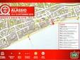 """Mappa """"Alassio Street Golf"""""""