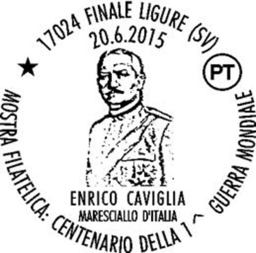 Finale Ligure, annullo filatelico per la mostra sulla Prima Guerra Mondiale