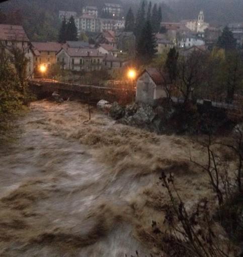 immagine di repertorio (alluvione a Urbe nel 2014)