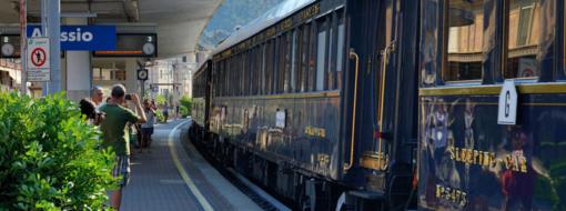 L'Orient Express passa per Alassio (VIDEO)