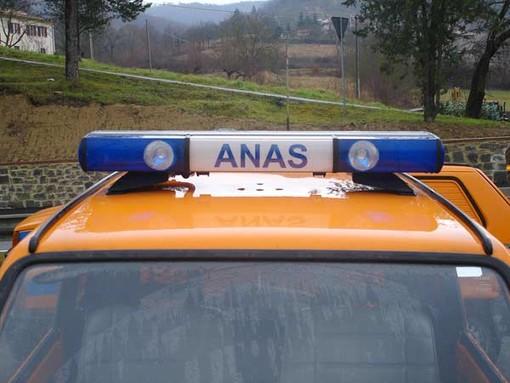 """Anas, guasto illuminazione galleria Vispa: traffico temporaneamente bloccato sulla """"Variante di Carcare"""""""