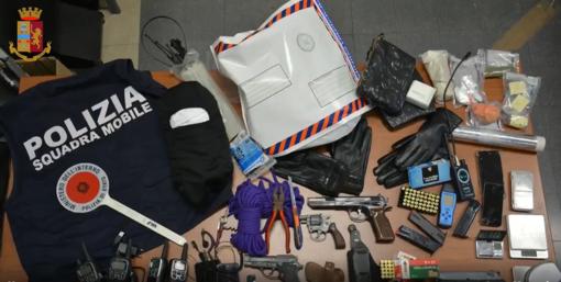 Tentano di sequestrare un imprenditore genovese: 6 arresti della Polizia a Varazze (FOTO E VIDEO)