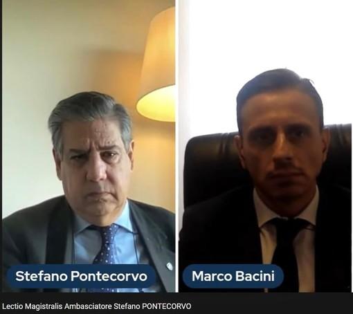 Afghanistan, Lectio dell'Ambasciatore Stefano Pontecorvo con il Professore Marco Bacini alla LUM School of Management
