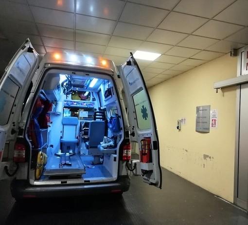 Schianto in moto a Villanova: due feriti trasportati al Santa Corona di Pietra Ligure