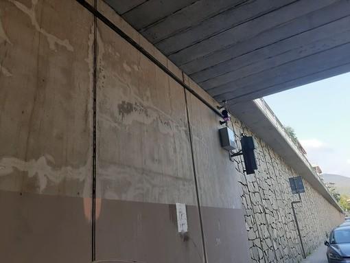 Varazze, installato l'autovelox sull'Aurelia Bis: a giorni verrà attivato (FOTO)
