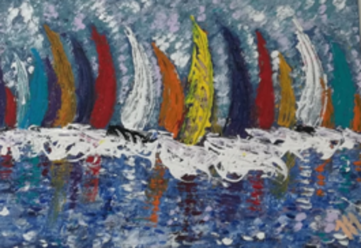 L'AVO di Savona dona le opere di tre artiste locali all'Ospedale San Paolo