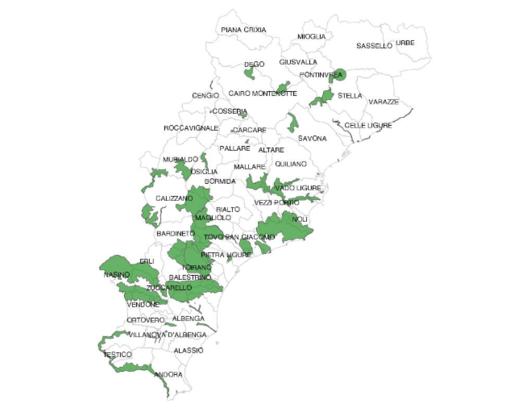 WWF denuncia l'abolizione delle 42 aree protette savonesi ed il parco del finalese