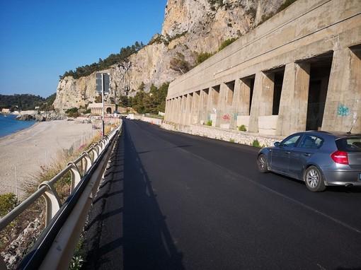 Anas, ultimati i lavori di consolidamento della scarpata a mare lungo l'Aurelia a Finale Ligure
