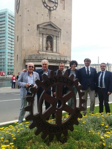 """""""AdottiAMO Savona"""" inaugurata una nuova aiuola donata dai Rotary in Piazza Leon Pancaldo"""