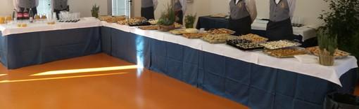Un ghiotto menù per Fabio Fazio e il Prefetto Gabrielli: i ragazzi dell'Alberghiero di Finale all'UniSavona