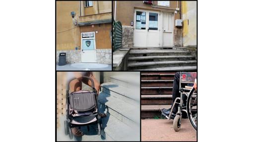 """Carcare, il Gruppo Lorenzi sindaco: """"Barriere architettoniche presso gli uffici comunali, problemi per utenti con disabilità e mamme con passeggini"""""""