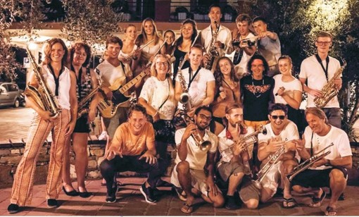 "Una spettacolare ""big band"" olandese anima l'estate di Toirano"