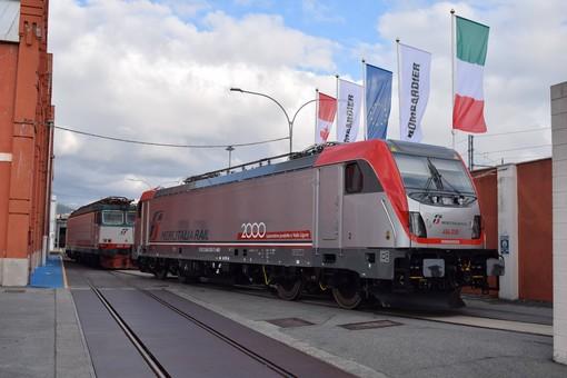 Bombardier presenta nello stabilimento di Vado Ligure la duemillesima locomotiva durante il Family Day 2019