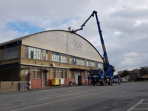 Albenga, al via i lavori per il rifacimento del tetto della bocciofila