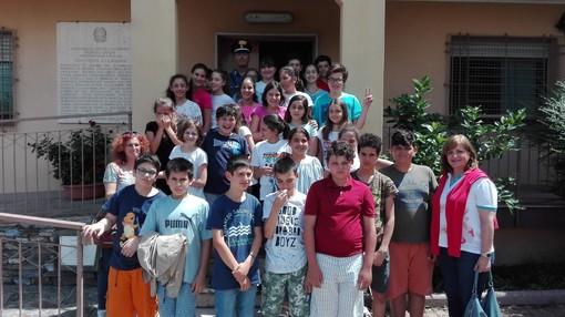 """Le scuole medie di Ortovero a """"lezione di legalità"""" dai Carabinieri di Villanova d'Albenga"""