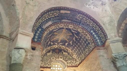 Alle origini della nostra civiltà: il mosaico del Battistero paleocristiano di Albenga