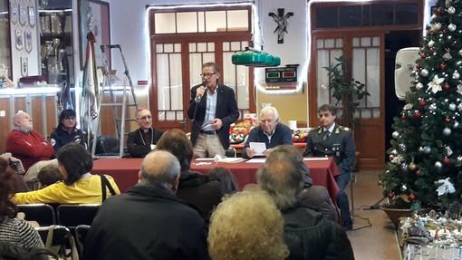 Il capitano della Guardia di Finanza Angela Crisci e il sindaco nominati socio onorario della Croce Bianca Albenga