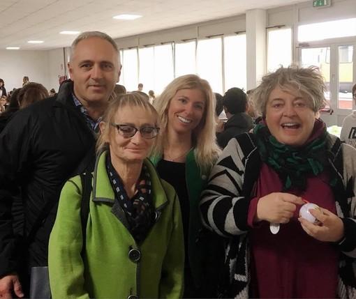 Mensa scolastica ad Albisola: blitz a sorpresa del sindaco Garbarini e dell'assessore Poggi