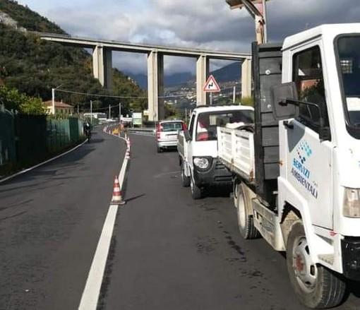 Tovo San Giacomo, lavori in corso per la realizzazione di un bypass idrico