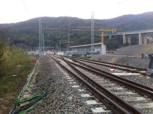 Maltempo: circolazione ferroviaria rallentata a Levante
