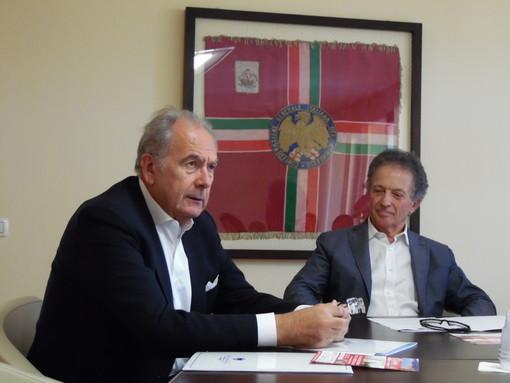 Vincenzo Bertino a destra e Luciano Pasquale a sinistra