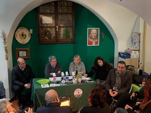 """Elezioni Albenga, incontro nella sede della Lega per Calleri: """"E' lui la scelta vincente per la città"""""""