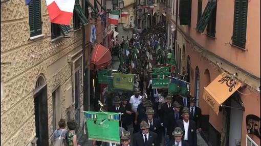 Varazze in festa per il 60° anniversario del Gruppo Alpini (FOTO e VIDEO)