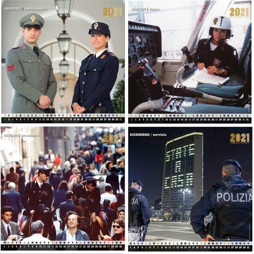 Che sia un Buon 2021 con il calendario della Polizia di Stato
