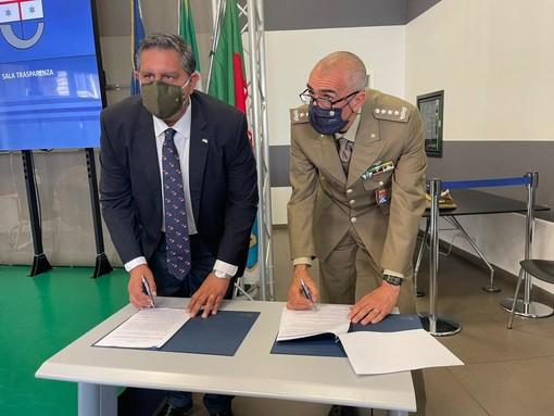 Regione Liguria firma la convenzione col ministero della Difesa per l'attività trasfusionale in collaborazione col Centro regionale sangue e le associazioni territoriali