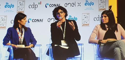 Mutamenti demografici, innovazione tecnologica e sociale e resilienza: Caprioglio relatrice al congresso Anci con Raggi e Appendino