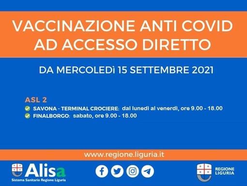 Savona, il 23 settembre attività vaccinale chiusa al Terminal Crociere