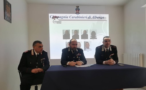 """Conclusa l'operazione """"Vesuvio"""":  7 persone in manette per atti intimidatori, estorsioni, incendi e furti in abitazione (FOTO e VIDEO)"""
